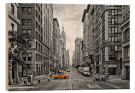 Cuadro de madera  NEW YORK CITY 5th Avenue - Melanie Viola