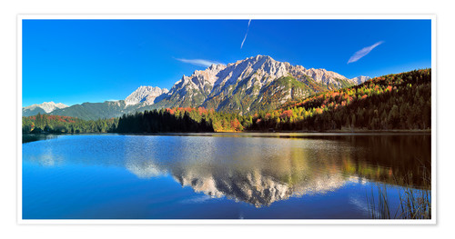 Póster Karwendel mountain Panorama