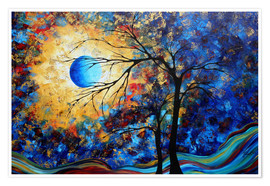 Póster  eye of the universe - Megan Duncanson