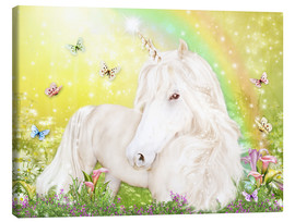 Lienzo  Unicorn of Happiness - Dolphins DreamDesign