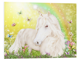 Cuadro de PVC  Unicorn of Happiness - Dolphins DreamDesign