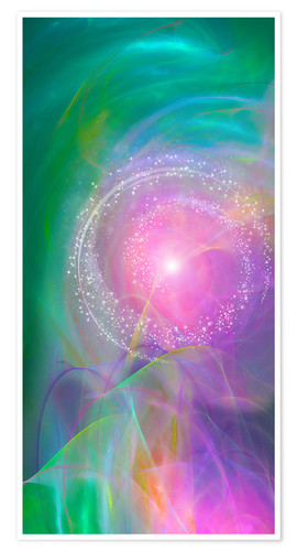 Póster Spirit Love - I am open to the divine power