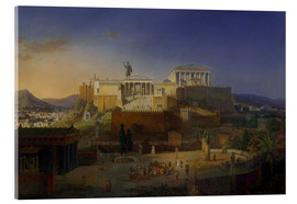 Metacrilato  The Acropolis of Athens, 1846 - Leo von Klenze