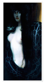 Póster  The Sin - Franz von Stuck