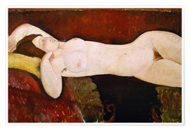 Póster Nude of a sleeping woman (Le Grand nu) 1917
