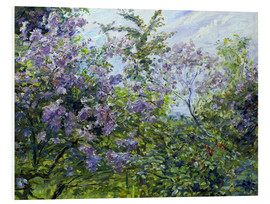 Cuadro de PVC  Blossoming lilac. About 1921 - Max Slevogt
