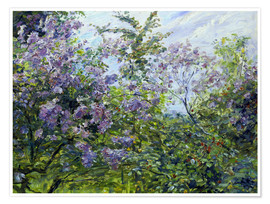 Póster Blossoming lilac. About 1921
