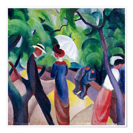 Póster  Paseo - August Macke
