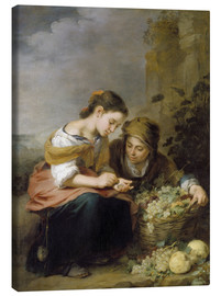 Lienzo  The Little Fruit Seller - Bartolome Esteban Murillo