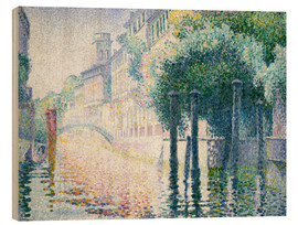 Madera  Kanal in Venedig. Um 1904 - Henri Edmond Cross