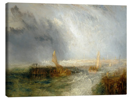 Lienzo  East End - Joseph Mallord William Turner