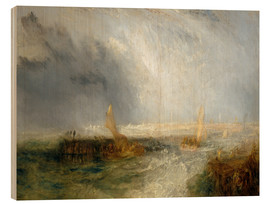 Cuadro de madera  East End - Joseph Mallord William Turner