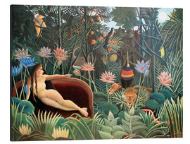 Aluminio-Dibond  The dream - Henri Rousseau