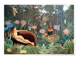 Póster  The dream - Henri Rousseau