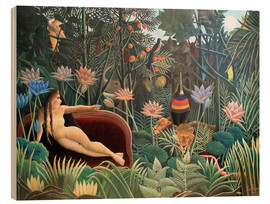 Madera  The dream - Henri Rousseau