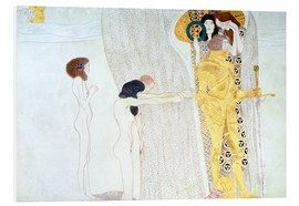 Forex  Beethoven Frieze, desire for the luck - Gustav Klimt