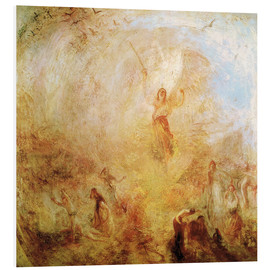 Cuadro de PVC  Angel in front of the sun - Joseph Mallord William Turner