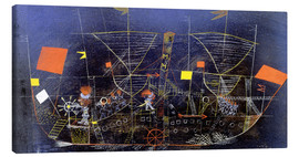 Lienzo  The adventure ship - Paul Klee