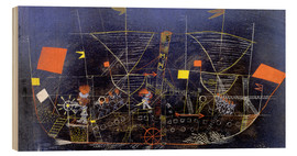 Madera  The adventure ship - Paul Klee