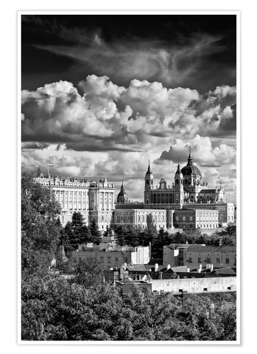 Póster Madrid, Palacio Real