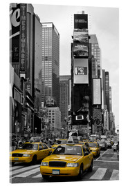 Cuadro de metacrilato  NEW YORK CITY Times Square - Melanie Viola