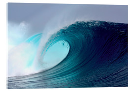 Metacrilato  Tropical blue surfing wave - Paul Kennedy