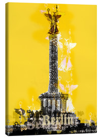 Lienzo  Berlin Victory Column (on Yellow) - JASMIN!
