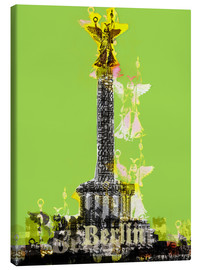 Lienzo  Berlin Victory Column (on Green) - JASMIN!