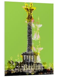 Cuadro de PVC  Berlin Victory Column (on Green) - JASMIN!