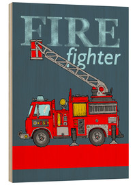 Madera  fire fighter fire truck - Fluffy Feelings