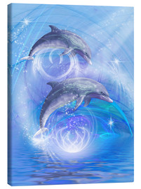 Lienzo  Dolphins Joyride - Dolphins DreamDesign