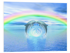 Forex  Dolphins Rainbow Healing - Dolphins DreamDesign
