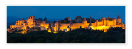 Póster France - Castle Carcassone
