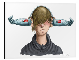 Aluminio-Dibond  You Tube Boy - Marian Kamensky