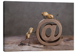 Lienzo  Simple Things - Email - Nailia Schwarz