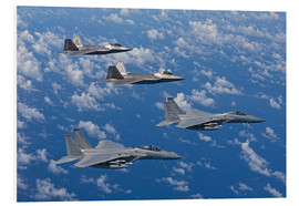 Forex  Two F-15 Eagles and F-22 - HIGH-G Productions
