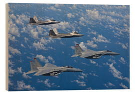 Madera  Two F-15 Eagles and F-22 - HIGH-G Productions