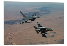 Cuadro de PVC  Two F16 on a training mission - HIGH-G Productions