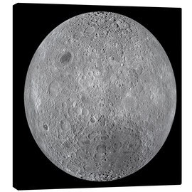Lienzo  The Far Side of the Moon - Stocktrek Images