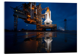 Cuadro de metacrilato  Space shuttle Atlantis - Stocktrek Images