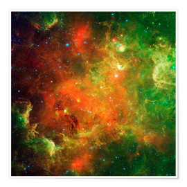 Póster Clusters of young stars