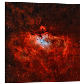 Cuadro de PVC  The Eagle Nebula in the constellation Serpens - Rolf Geissinger