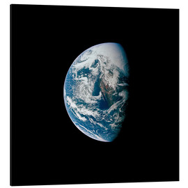 Cuadro de aluminio  View of the Earth from the spacecraft Apollo 13 - Stocktrek Images
