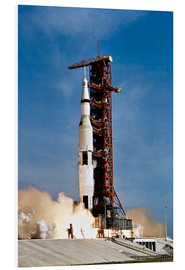 Forex  Apollo 11 space vehicle taking off from Kennedy Space Center - Stocktrek Images