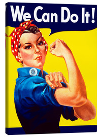 Lienzo  Rosie the Riveter, We can do it! - John Parrot
