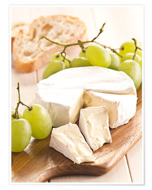 Póster  French soft cheese - Edith Albuschat