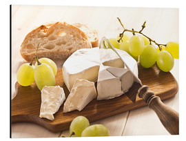 Cuadro de aluminio  Cheese and grapes - Edith Albuschat