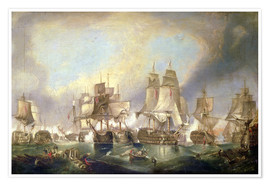 Póster Battle of Trafalgar