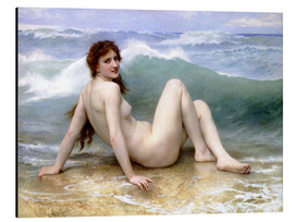 Cuadro de aluminio  The Wave - William Adolphe Bouguereau