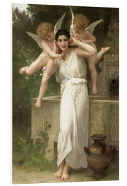 Cuadro de PVC  Juventud - William Adolphe Bouguereau